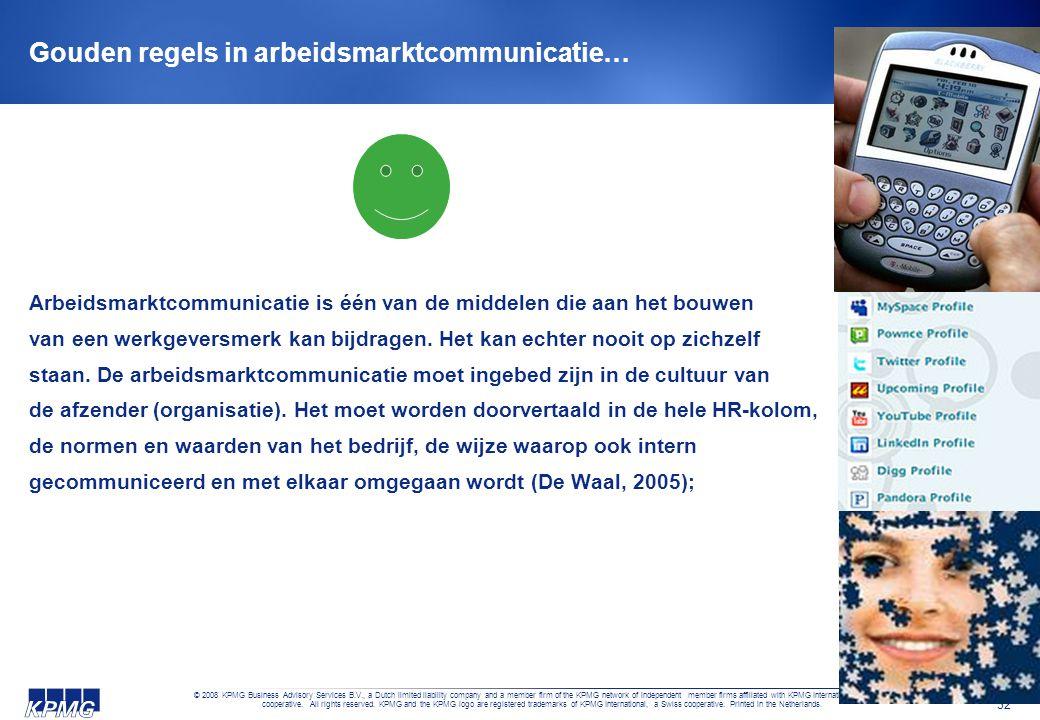Gouden regels in arbeidsmarktcommunicatie…