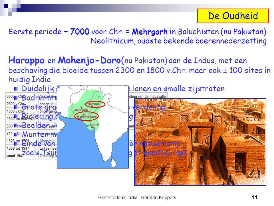 Geschiedenis India - Herman Kuppers