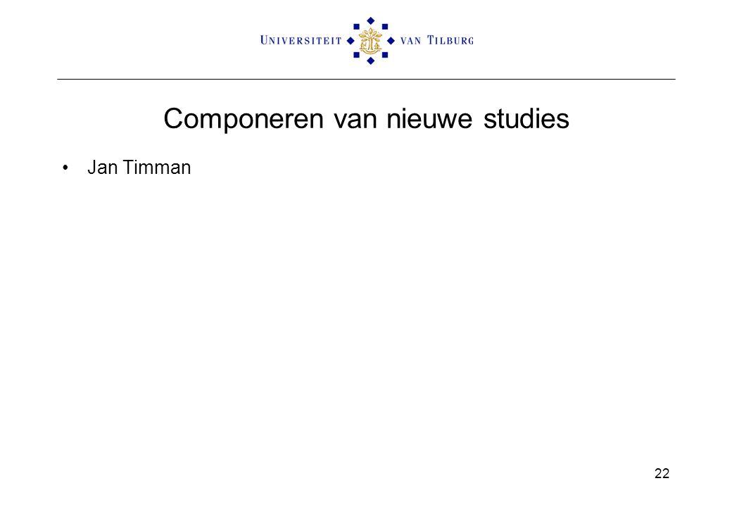 Componeren van nieuwe studies