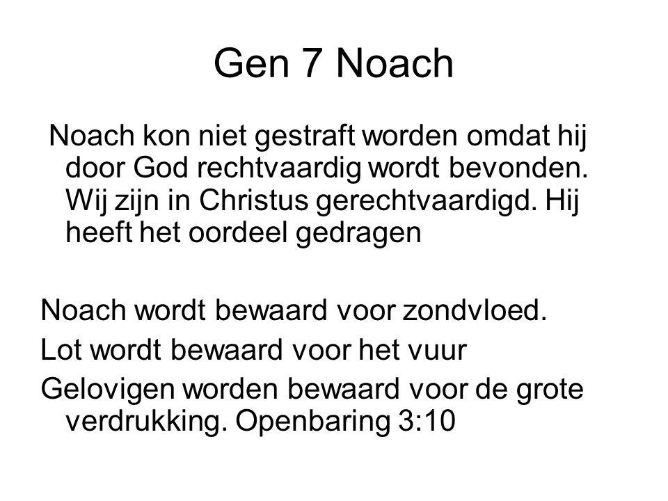 Gen 7 Noach