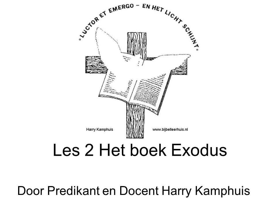 Door Predikant en Docent Harry Kamphuis