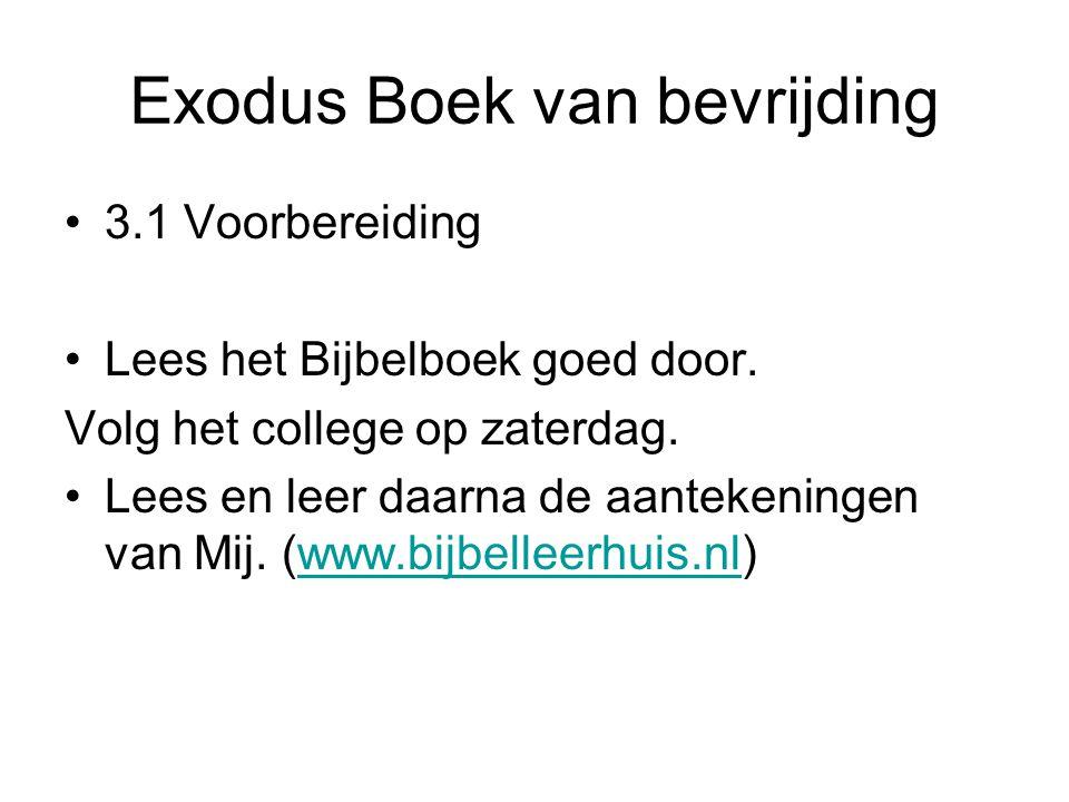 Exodus Boek van bevrijding