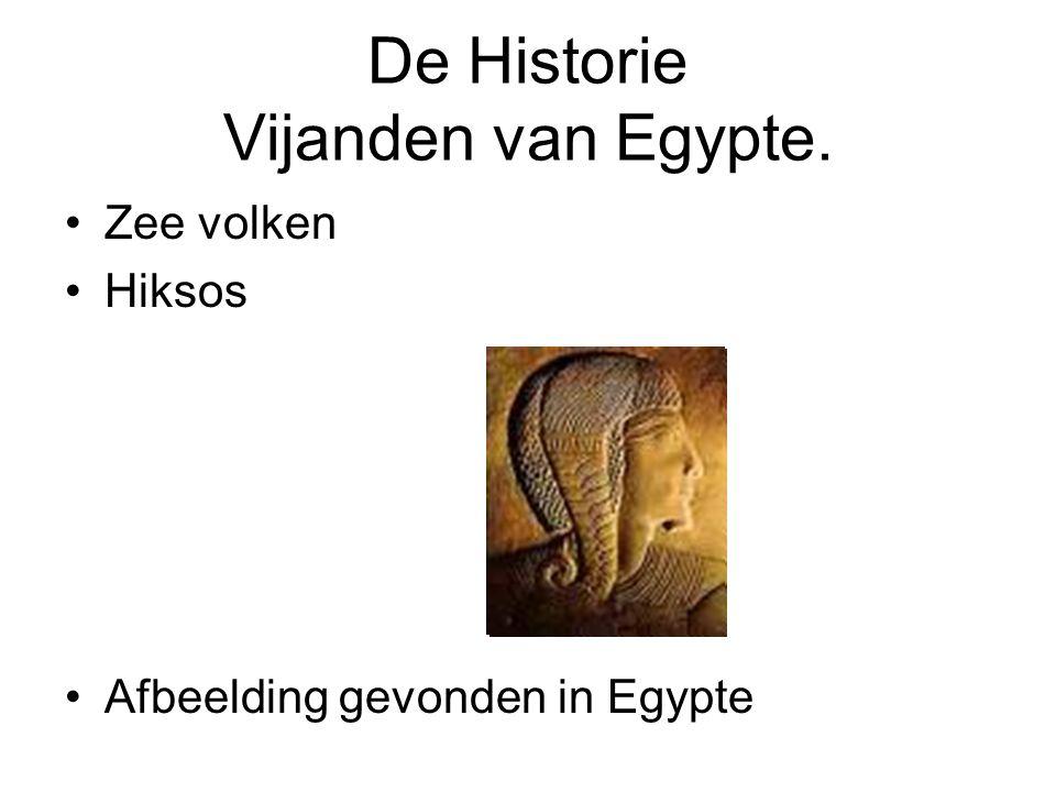 De Historie Vijanden van Egypte.