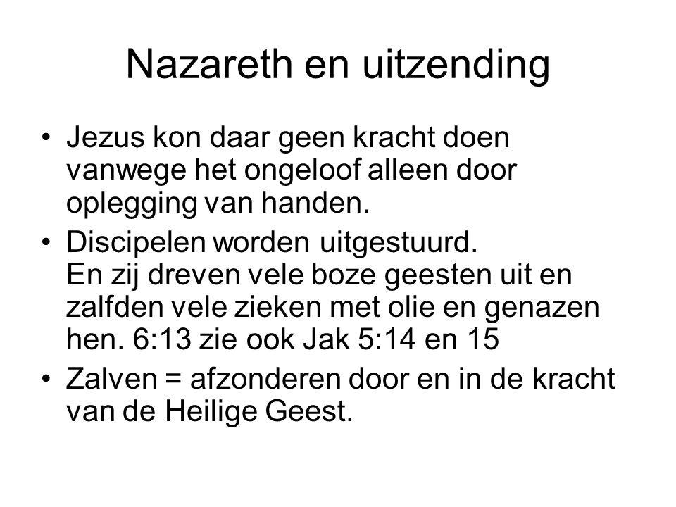 Nazareth en uitzending