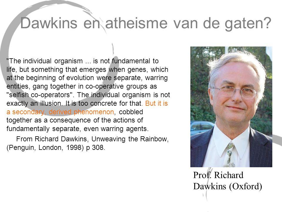 Dawkins en atheisme van de gaten