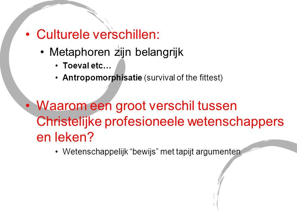 Culturele verschillen: