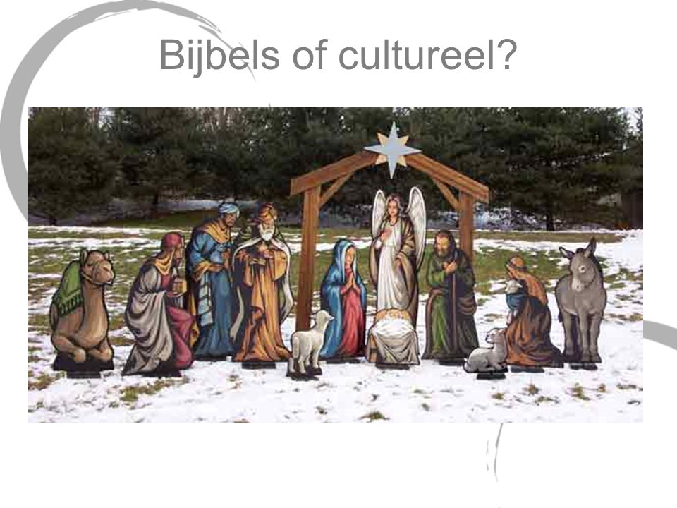 Bijbels of cultureel Wise men at birth -- wrong