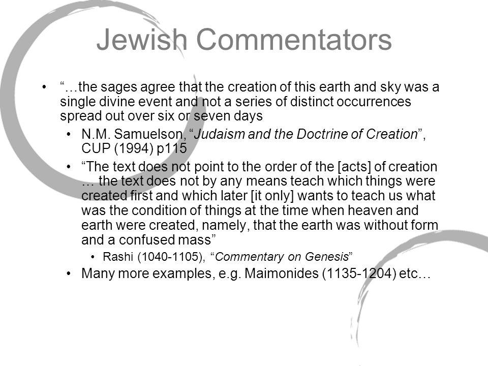 Jewish Commentators
