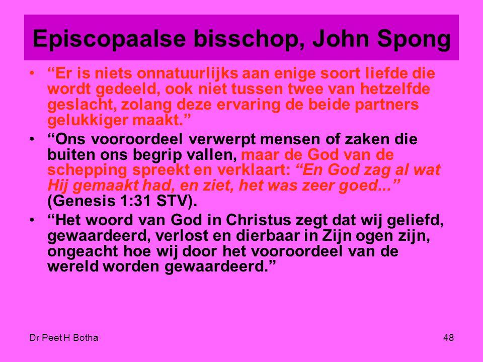 Episcopaalse bisschop, John Spong