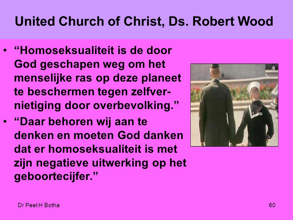 United Church of Christ, Ds. Robert Wood