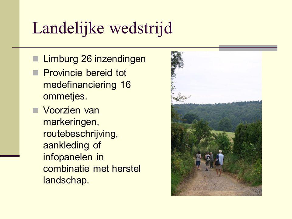 Landelijke wedstrijd Limburg 26 inzendingen