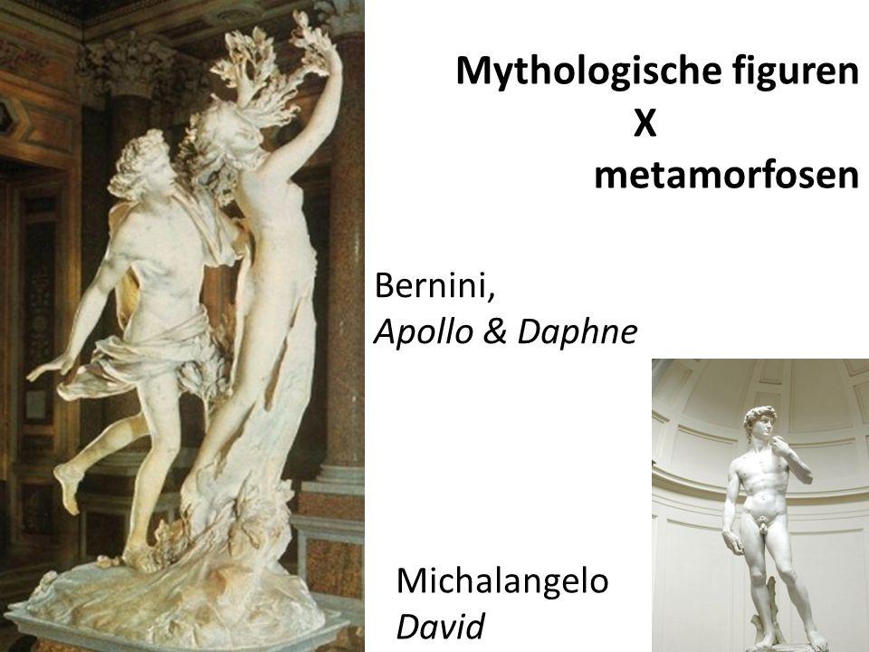 Mythologische figuren X metamorfosen