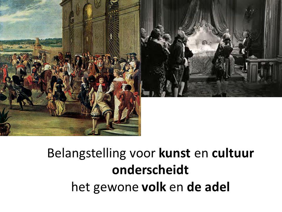 Belangstelling voor kunst en cultuur onderscheidt