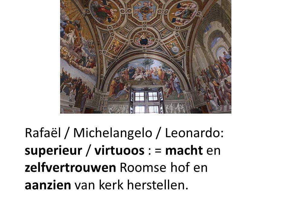 Rafaël / Michelangelo / Leonardo: