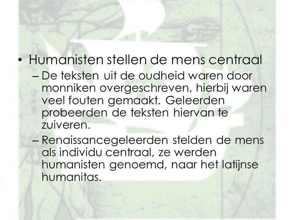 Humanisten stellen de mens centraal