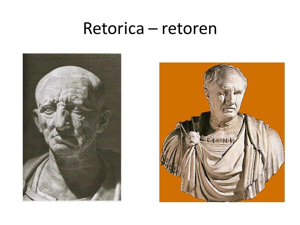 Retorica – retoren