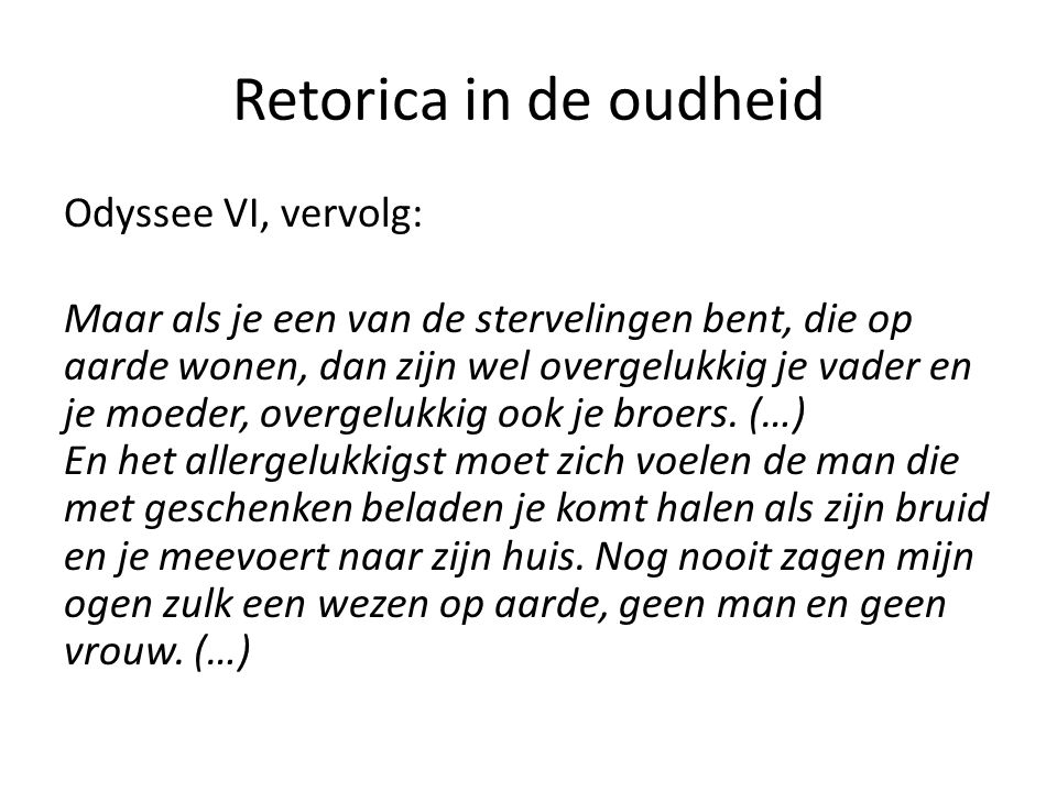 Retorica in de oudheid