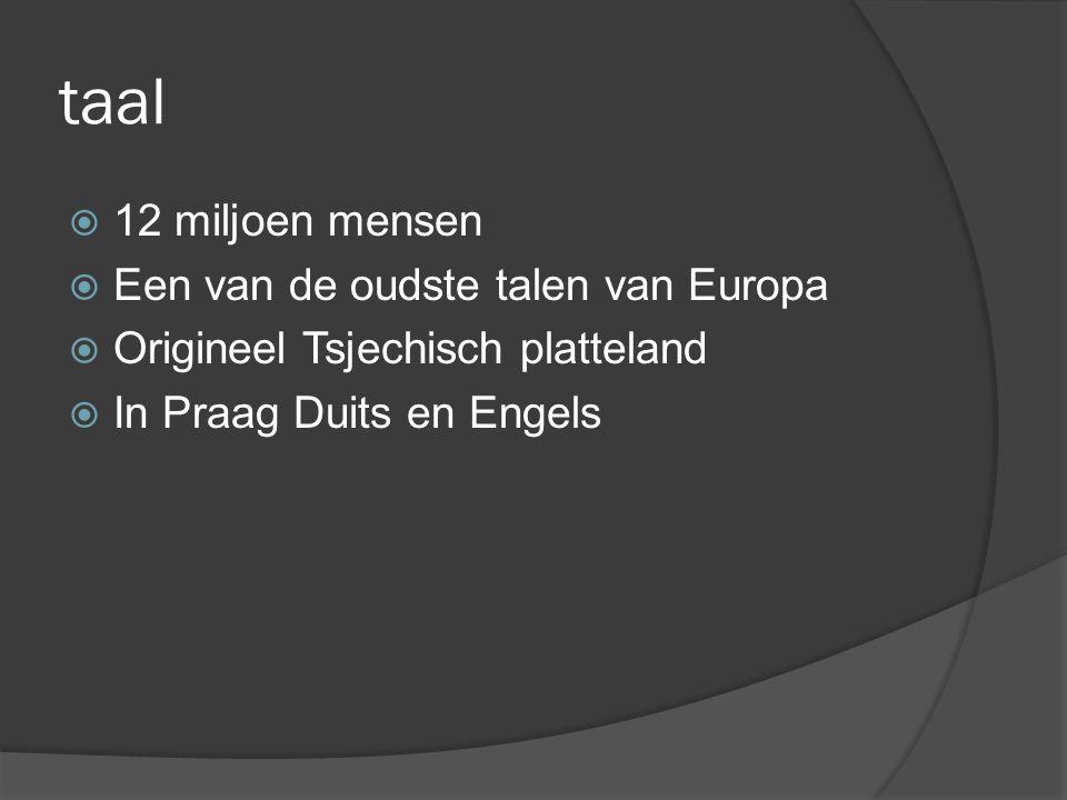 taal 12 miljoen mensen Een van de oudste talen van Europa