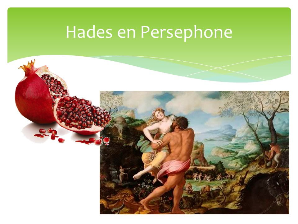 Hades en Persephone
