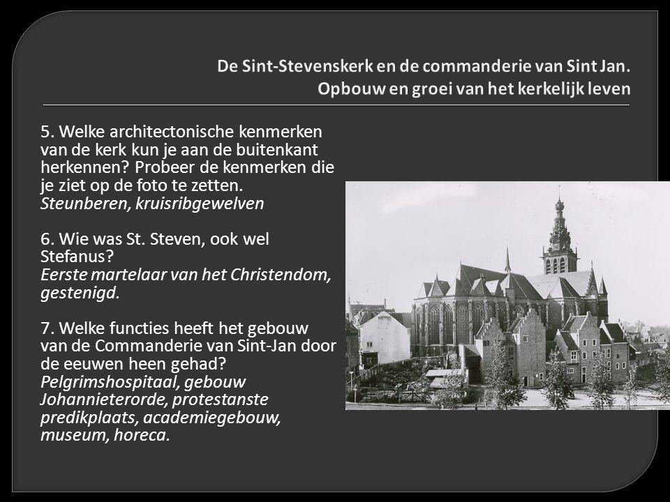De Sint-Stevenskerk en de commanderie van Sint Jan