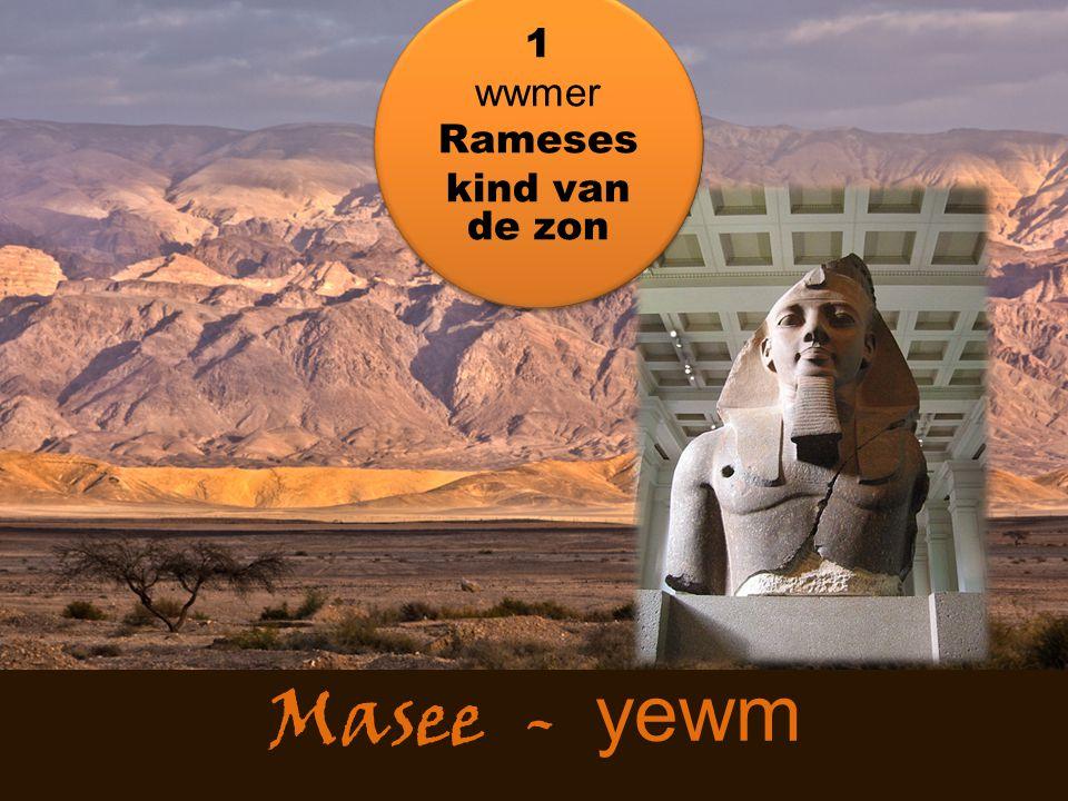 1 wwmer Rameses kind van de zon