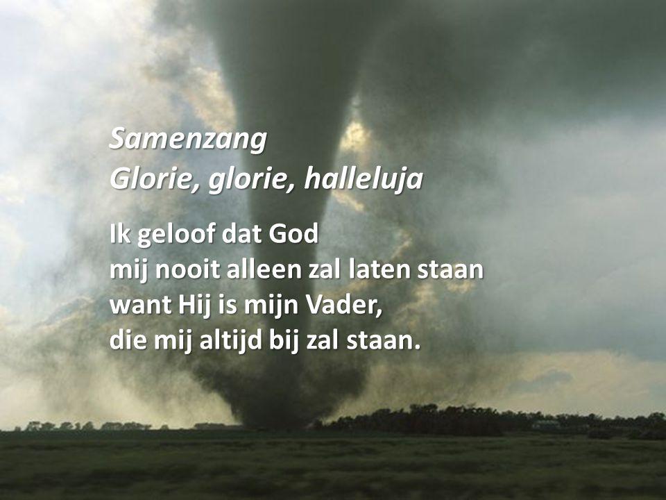 Samenzang Glorie, glorie, halleluja