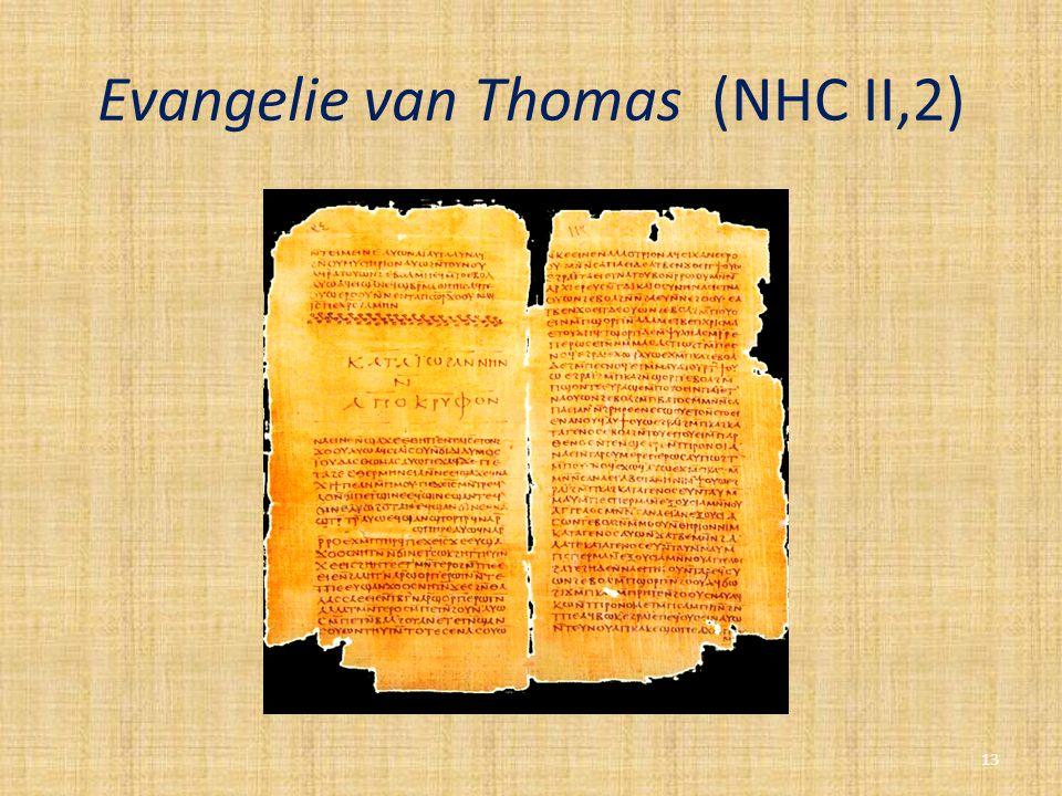 Evangelie van Thomas (NHC II,2)