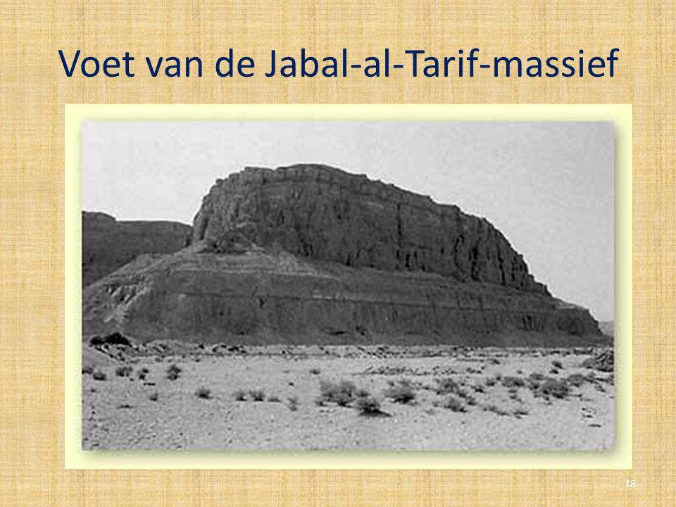 Voet van de Jabal-al-Tarif-massief