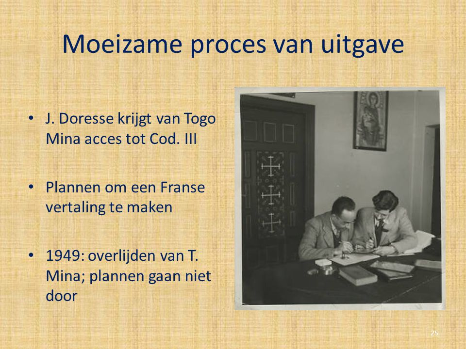 Moeizame proces van uitgave