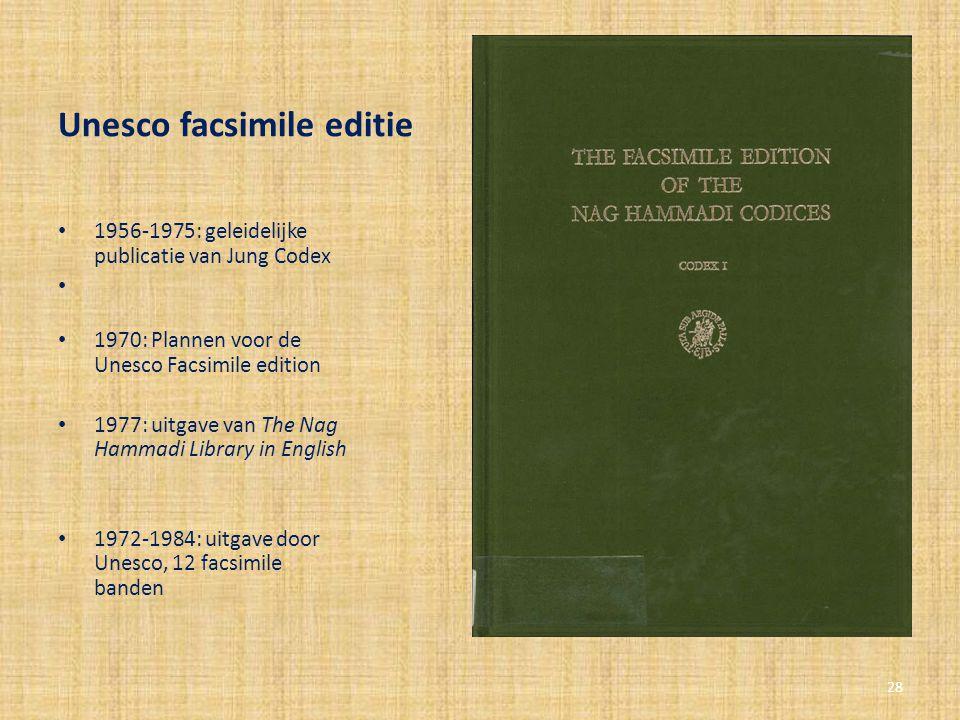Unesco facsimile editie