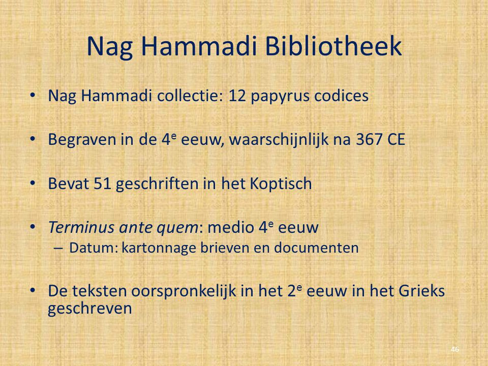 Nag Hammadi Bibliotheek