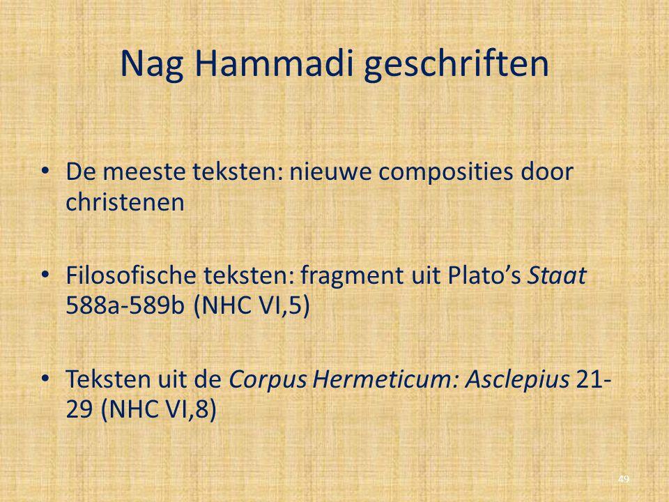 Nag Hammadi geschriften