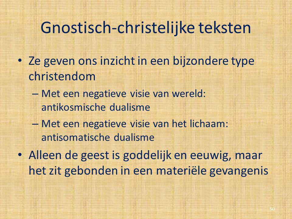 Gnostisch-christelijke teksten