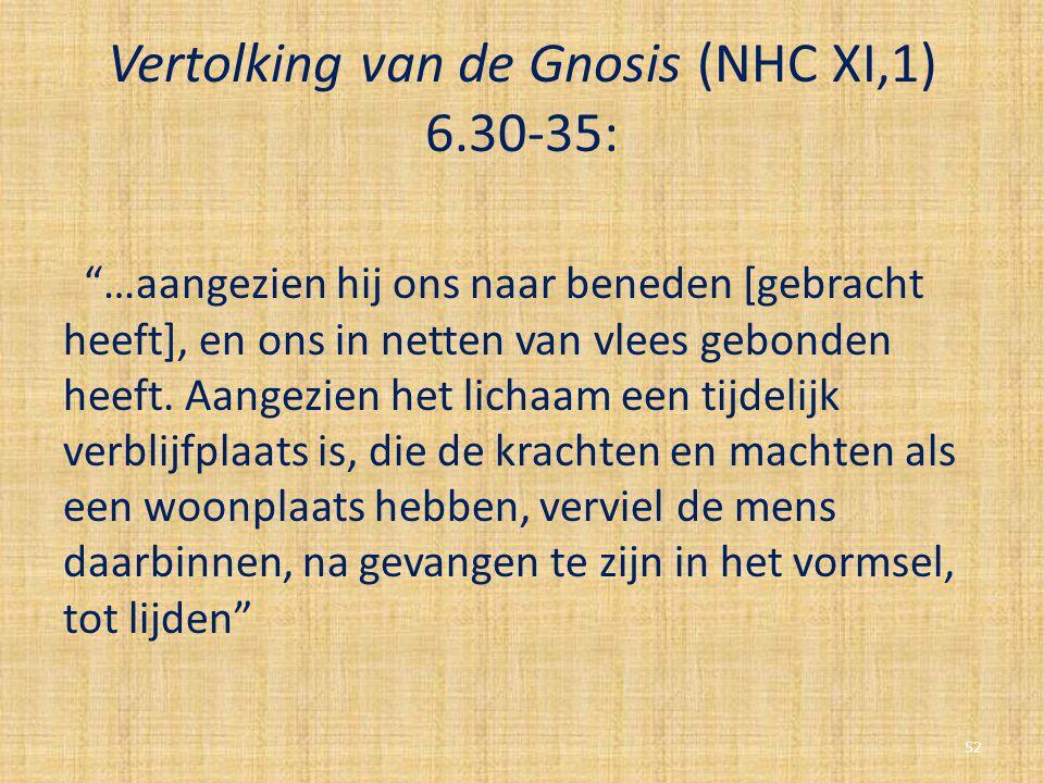 Vertolking van de Gnosis (NHC XI,1) 6.30-35: