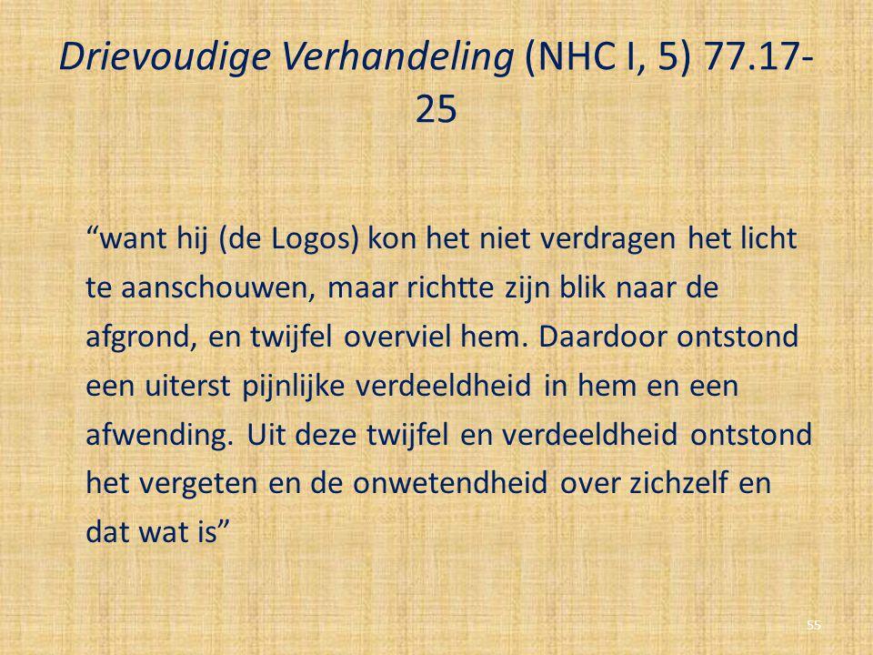 Drievoudige Verhandeling (NHC I, 5) 77.17-25
