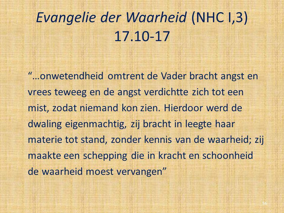 Evangelie der Waarheid (NHC I,3) 17.10-17