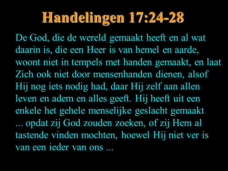 Handelingen 17:24-28