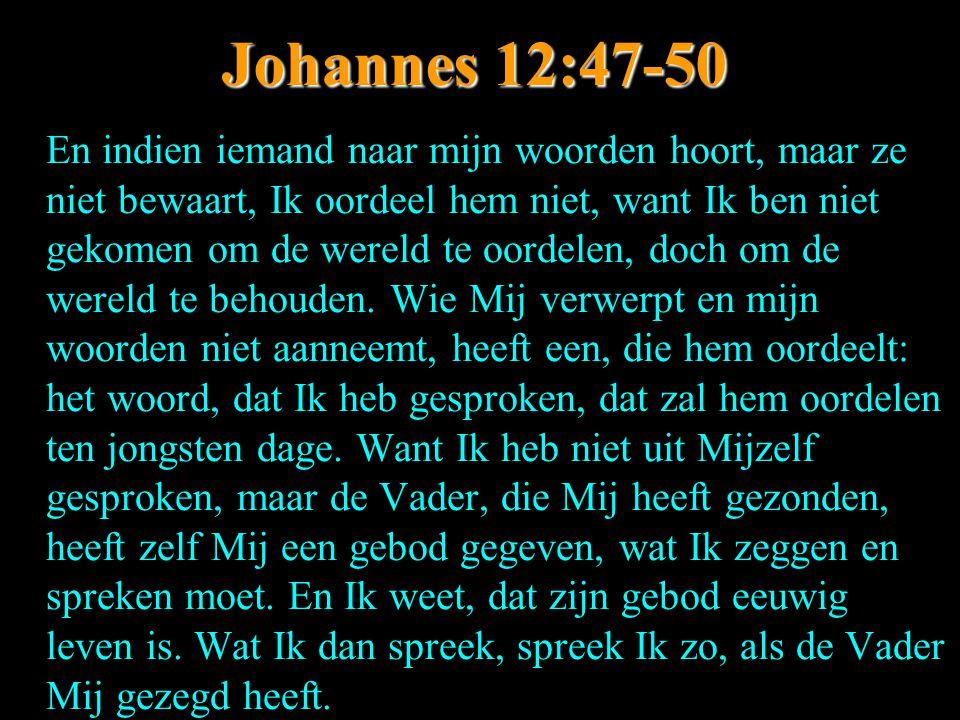 Johannes 12:47-50
