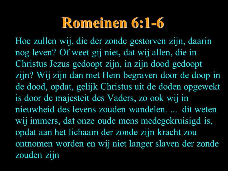 Romeinen 6:1-6