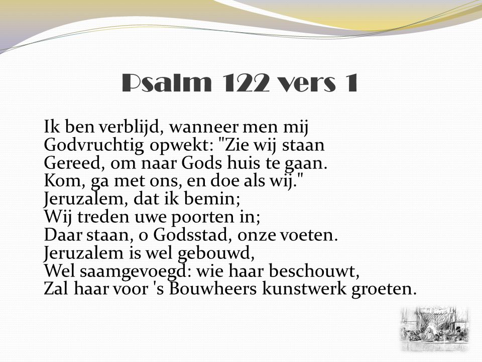 Psalm 122 vers 1