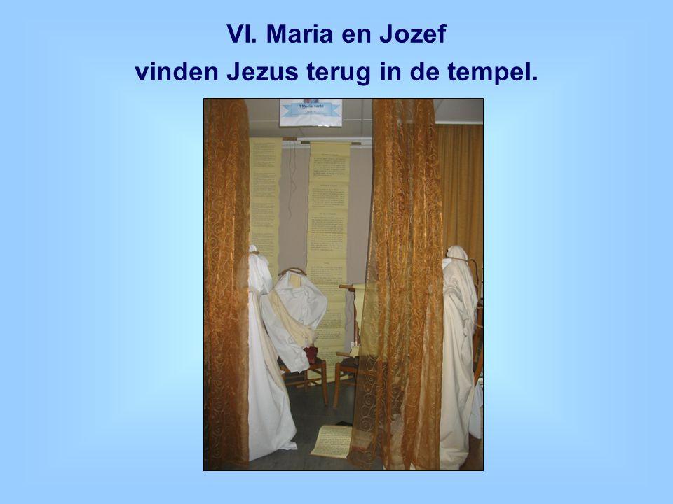 vinden Jezus terug in de tempel.