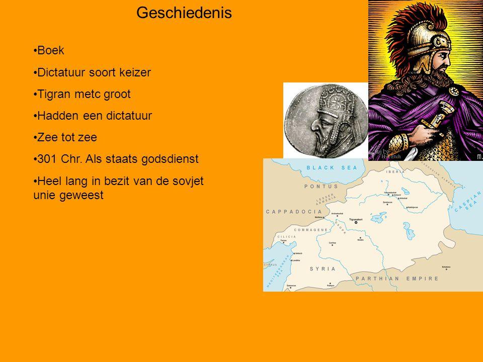 Geschiedenis Boek Dictatuur soort keizer Tigran metc groot