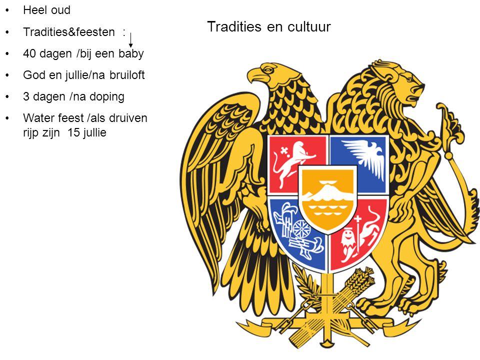 Tradities en cultuur Heel oud Tradities&feesten :