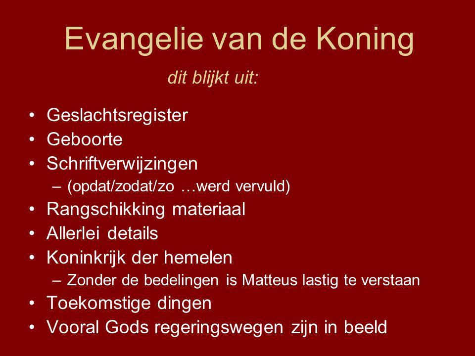 Evangelie van de Koning