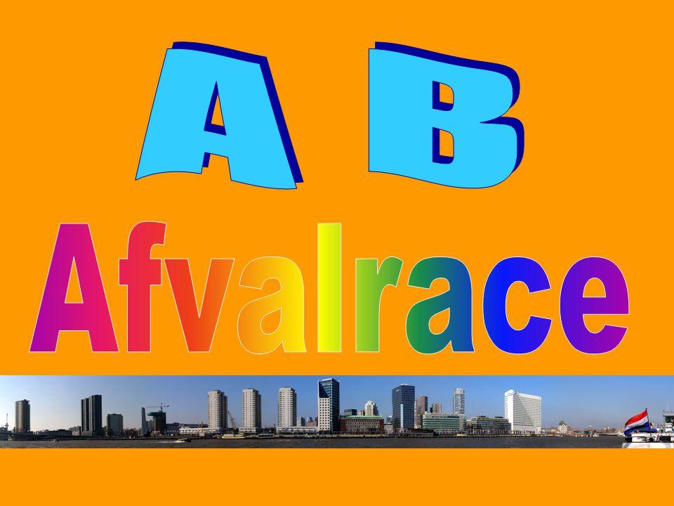 A B Afvalrace