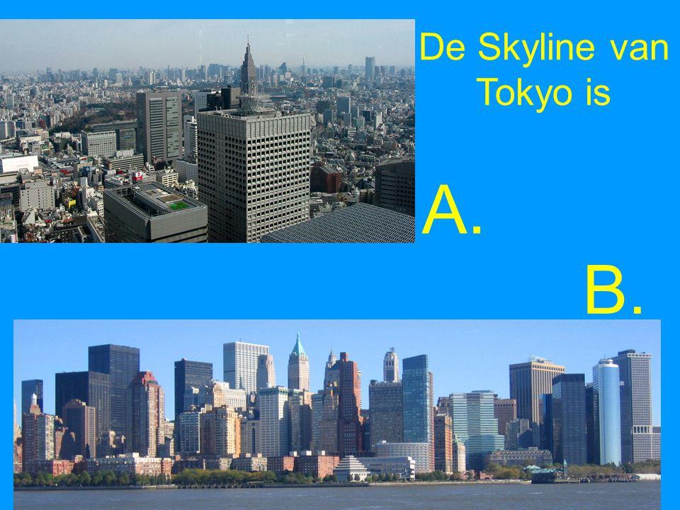 De Skyline van Tokyo is A. B.