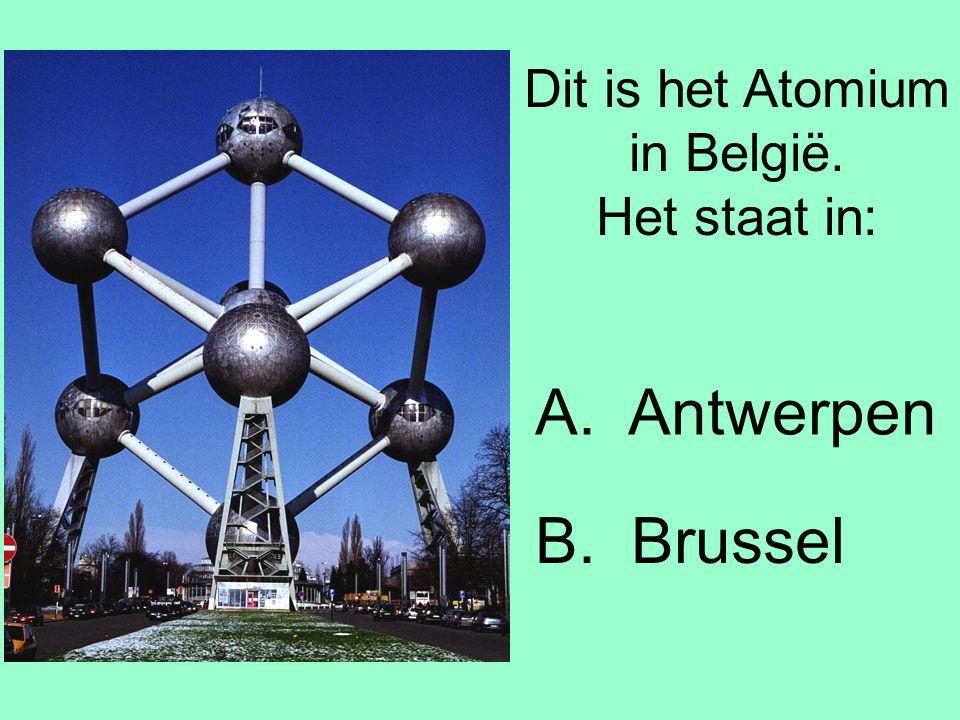 Dit is het Atomium in België. Het staat in:
