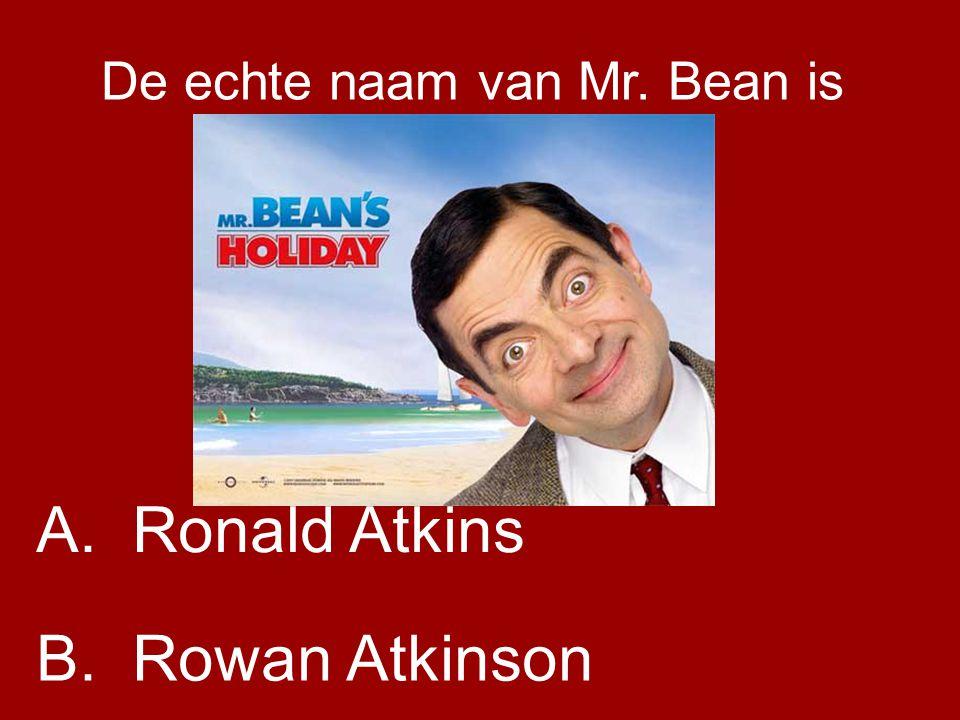 De echte naam van Mr. Bean is