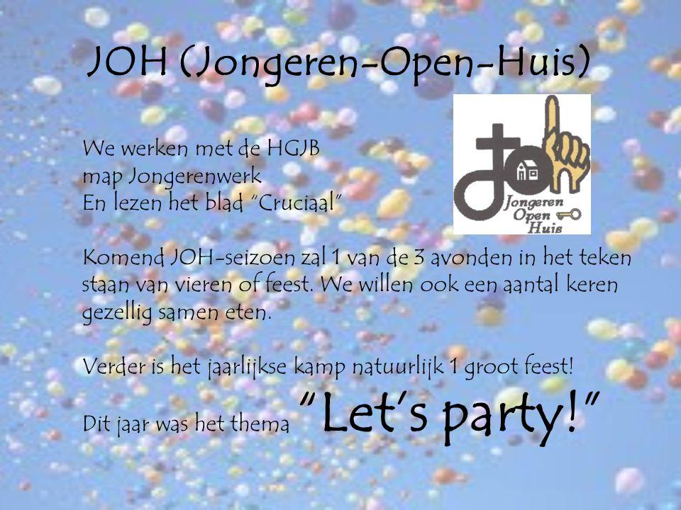 JOH (Jongeren-Open-Huis)