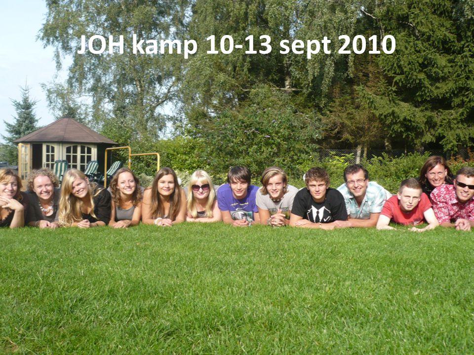 JOH kamp 10-13 sept 2010